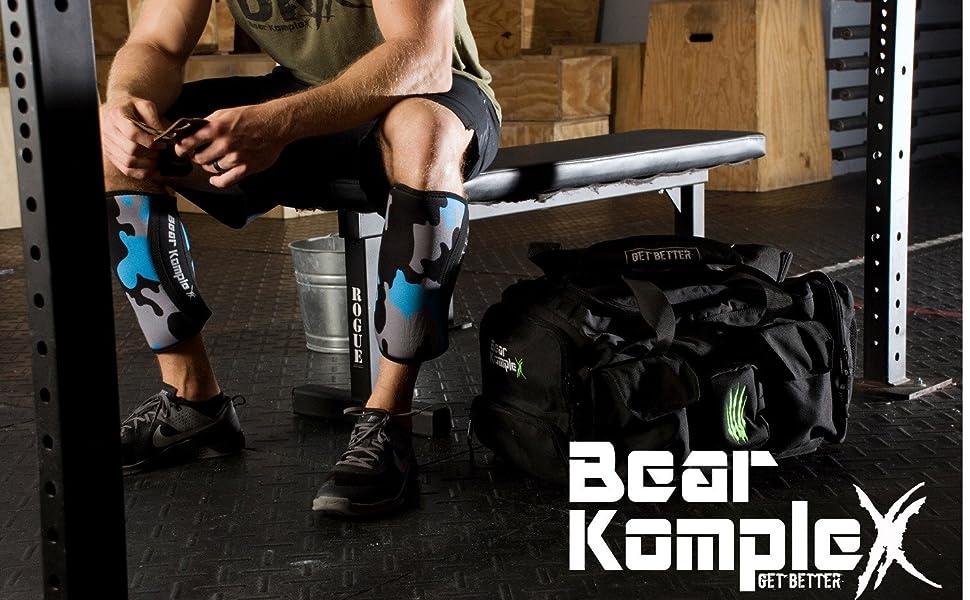 Bear Komplex Knee Sleeves