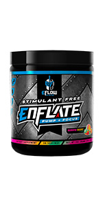 enflate stimulant free pump and focus