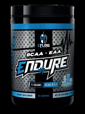 endure, bcaa,eaa,gummybear,gummy bear,eflow,eflow nutrition
