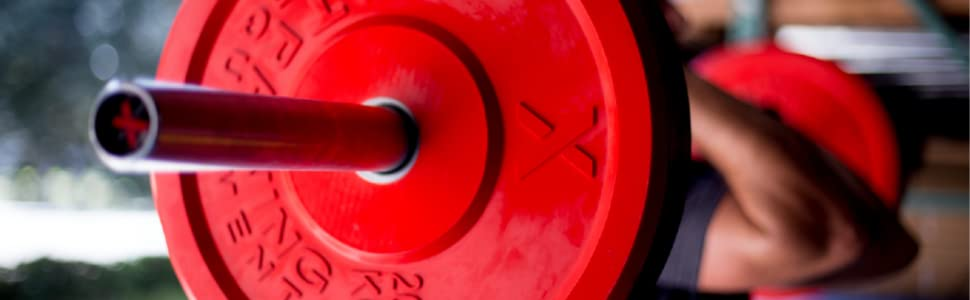 Premium Colored Bumper Plates are the ideal weights to use in home or garage gyms and affiliates!