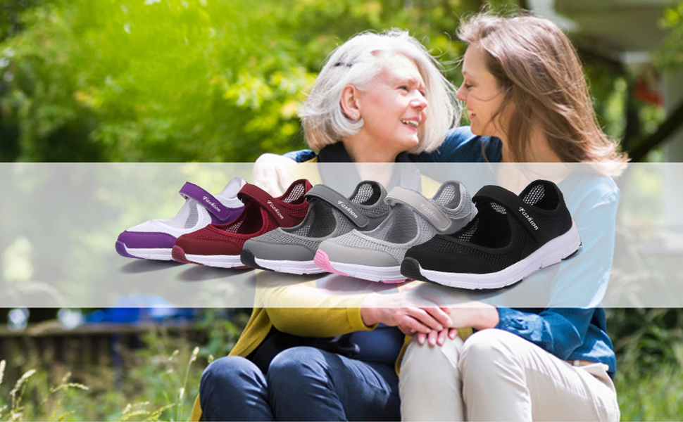 walking shoes for old person