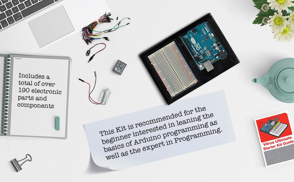 Amazon.com: Vilros Arduino Uno 3 Ultimate Starter Kit ...