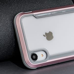 clear case, protective case, xr cases, xr case, pretty xr case, pink xr case, military grade case
