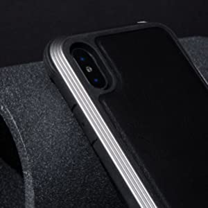 Defense Lux for iPhone Xs Max. Luxurious Protective, lifeproof, carbon fiber military grade