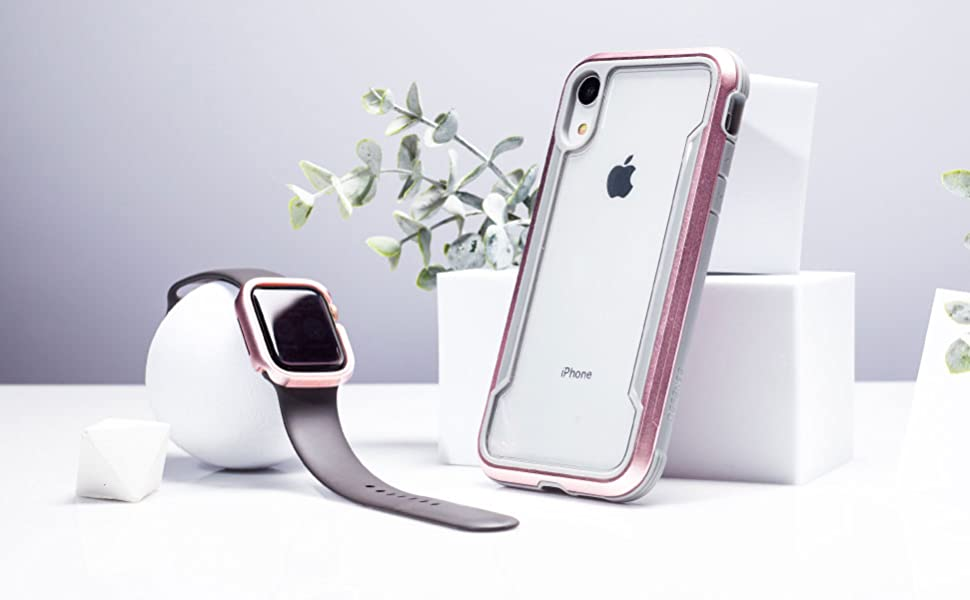 apple watch 40mm bumper protection edge frame metal aluminum classic sleek style women accessories