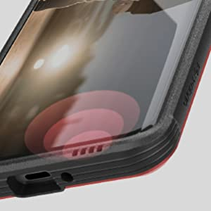 Integrated audio channel, Samsung Galaxy S10 phone case
