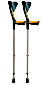 ORTONYX Forearm Walking Crutches