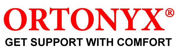 ORTONYX Logo - comfort posture corrector back brace