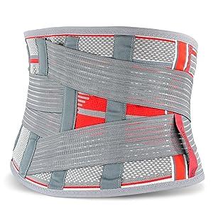 ORTONYX Lumbar Support Belt Back Brace