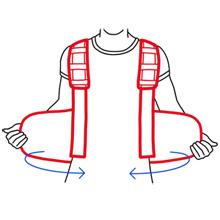 ortonyx posture corrector back brace