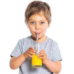 Spoon Straws for Kids