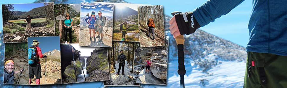 foxelli trekking poles