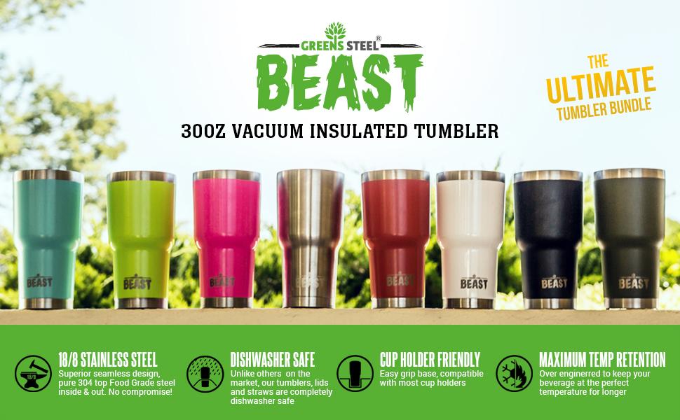 Beast 30oz tumblers