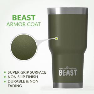 Beast 30oz tumbler armor coat