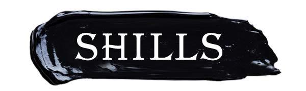 SHILLS logo   black mask
