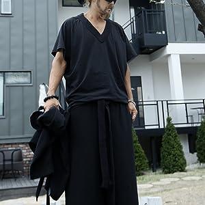 ByTheR Mens Fashion ByTheR Flat Rope Belt Gothic Onesize Vintage