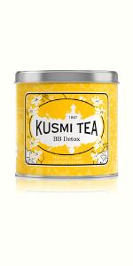 BB Detox, kusmi tea, detox tea, green tea