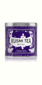 Be cool, kusmi tea, caffeine-free, detox herbal tea