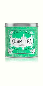 Green detox tea with yerba mate