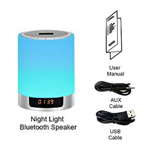 Bluetooth Night Light Speakers