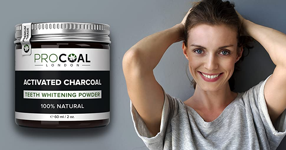 activated charcoal teeth whitener by procoal fast acting charcoal teeth whitening. Black Bedroom Furniture Sets. Home Design Ideas