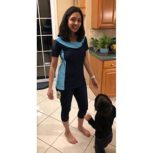 Amazon.com: Ababalaya Traje de baño burkini de dos ...