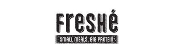 Freshe logo small meals big protein