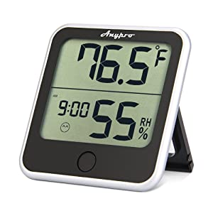 Amazon.com: Humidity Monitor - Anypro Hygrometer Thermometer ...