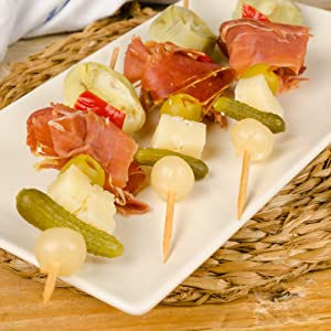 appetizer hors d'oeuvres skewer fork spears party event catering food ideas