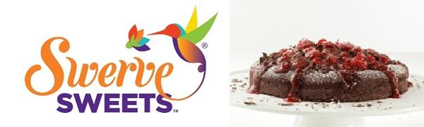 Chocolate Cake and Swerve Sweets Logo