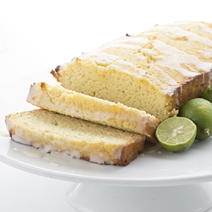 Key Lime Poundcake made with Swerve Sweetener