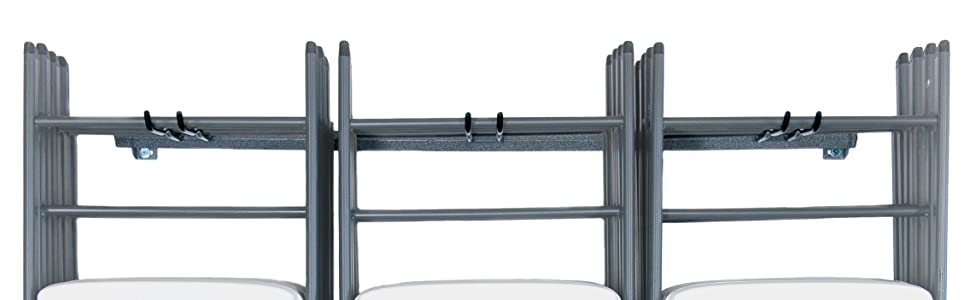 Monkey Bars Folding Chair Rack, Large