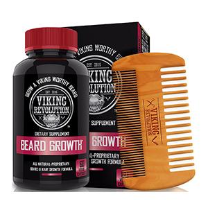 Beard Growth Vitamin Supplement for Men