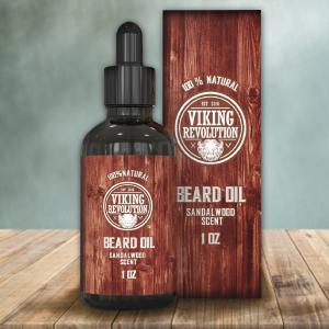 viking revolution beard oil sandalwood