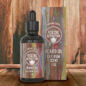 Viking revolution beard oil