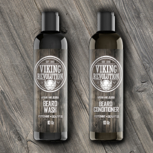 Viking revolution beard wash conditioner set