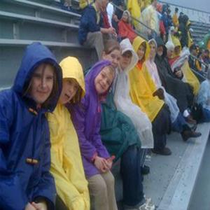 girl boy kids children rain poncho