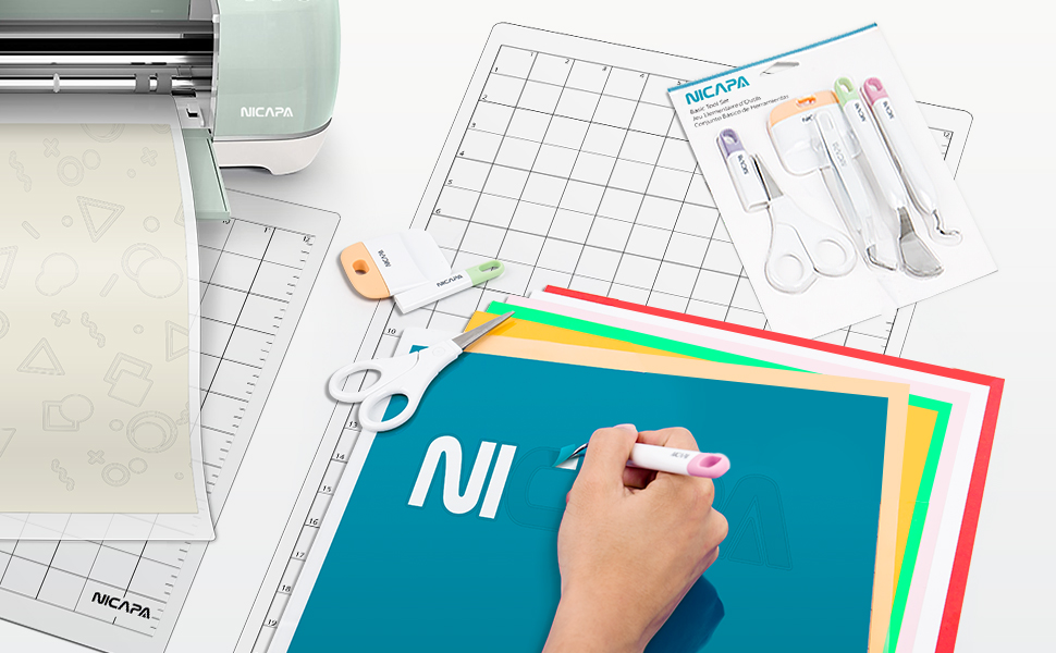 Nicapa Cutting Mat for Silhouette Cameo 3/2/1