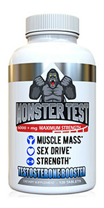 Amazon com: Angry Supplements Monster Test, Testosterone