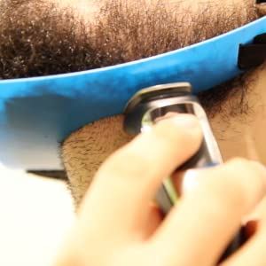 neckline trimming close angle
