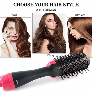 Salon Multifunctional Hot air Comb