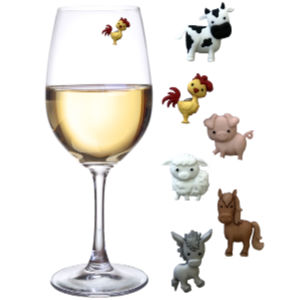 Horse Wine Glass Charms-Set of 4