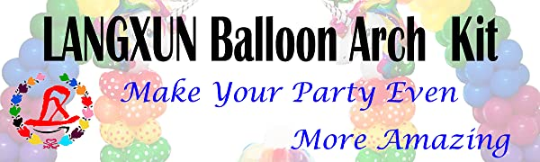 BALLOON ARCH KIT AND BALLOON COLUNM STAND
