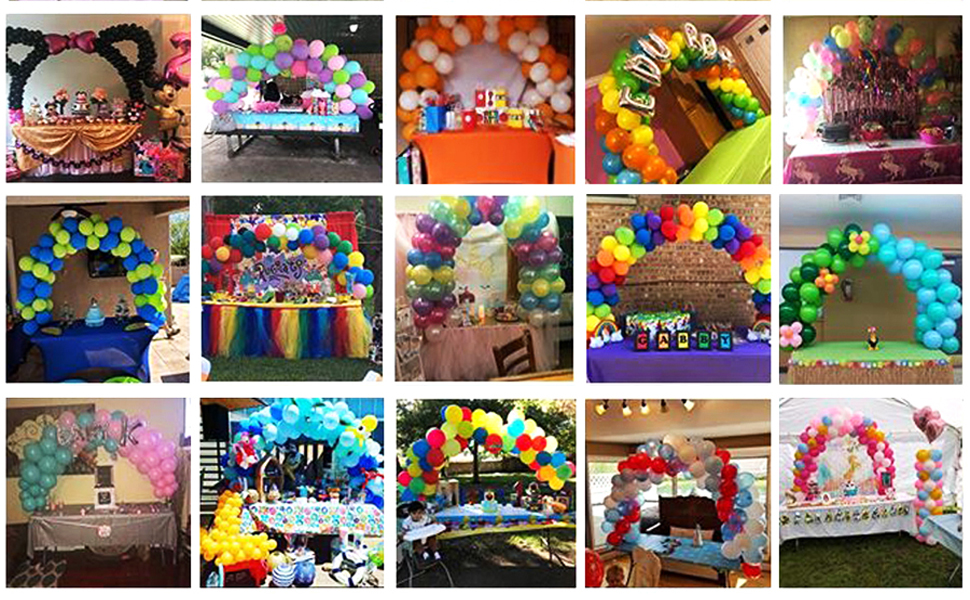 Build your party balloon arch
