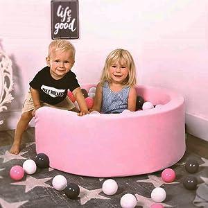 LANGXUN Pit Ball Kiddie Dry Pools Indoor Playpen Kids Ball Pit Playpen for Baby Kids Children Birthday for Baby Toddler Kids Baby Toddler Ball Pit Ball Pits Accessories
