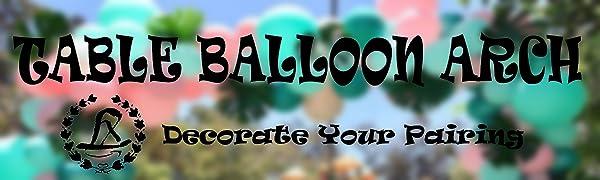 LANGXUN table balloon arch