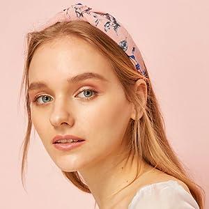 floral headbands for women