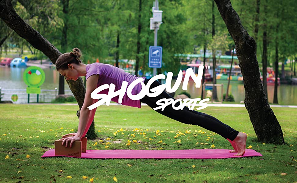 Shogun Sports Cork Yoga Block | Yoga Brick, Natural & Eco-Friendly Cork Material. Improve and Deepen Your Poses, Lightweight, Odor-Resistant and ...