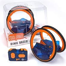 hexbug ring racer remote control car race race car remote control car rc car stunt car robot