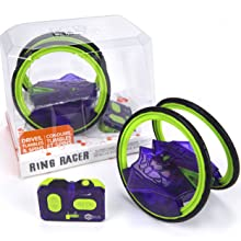 hexbug ring racer race car remote control rc car stunt car mechanical robot car remote control